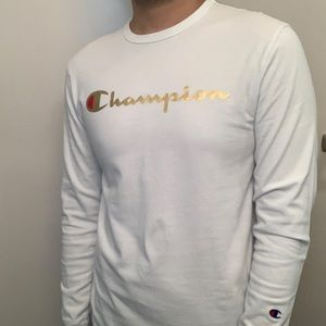 Champion Long Sleeve Tee